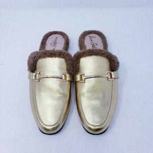 Sam Edelman Danica Mule Shoe Faux Fur Size 6